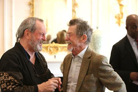 Terry Gilliam and John Hurt